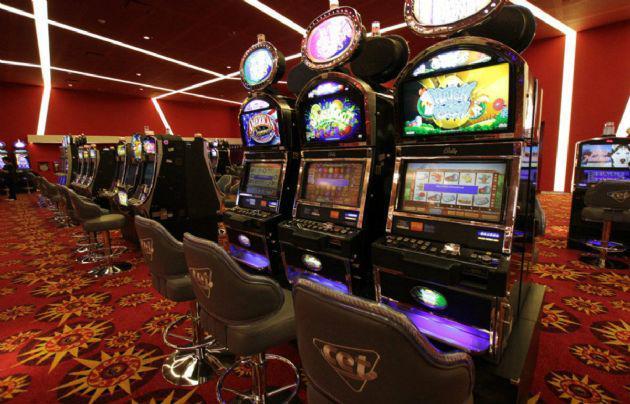 El casino que el Grupo Roggio abrió en el Ansenuza.