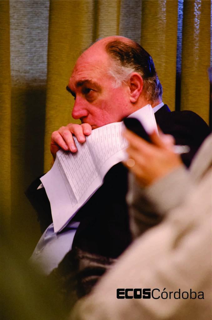 Eduardo Mondino, a cargo de las relaciones institucionales de Corporación América. Foto: Matías Spicogna.