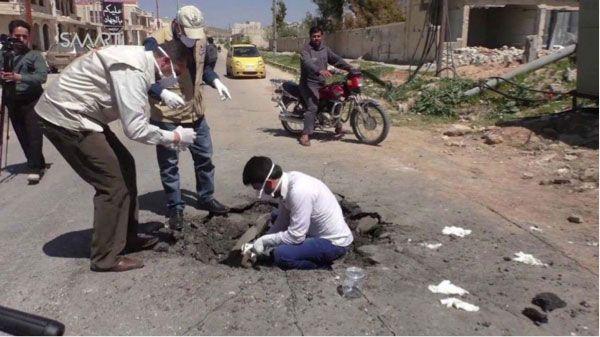 La construcción de la falsa noticia del ataque químico en Siria